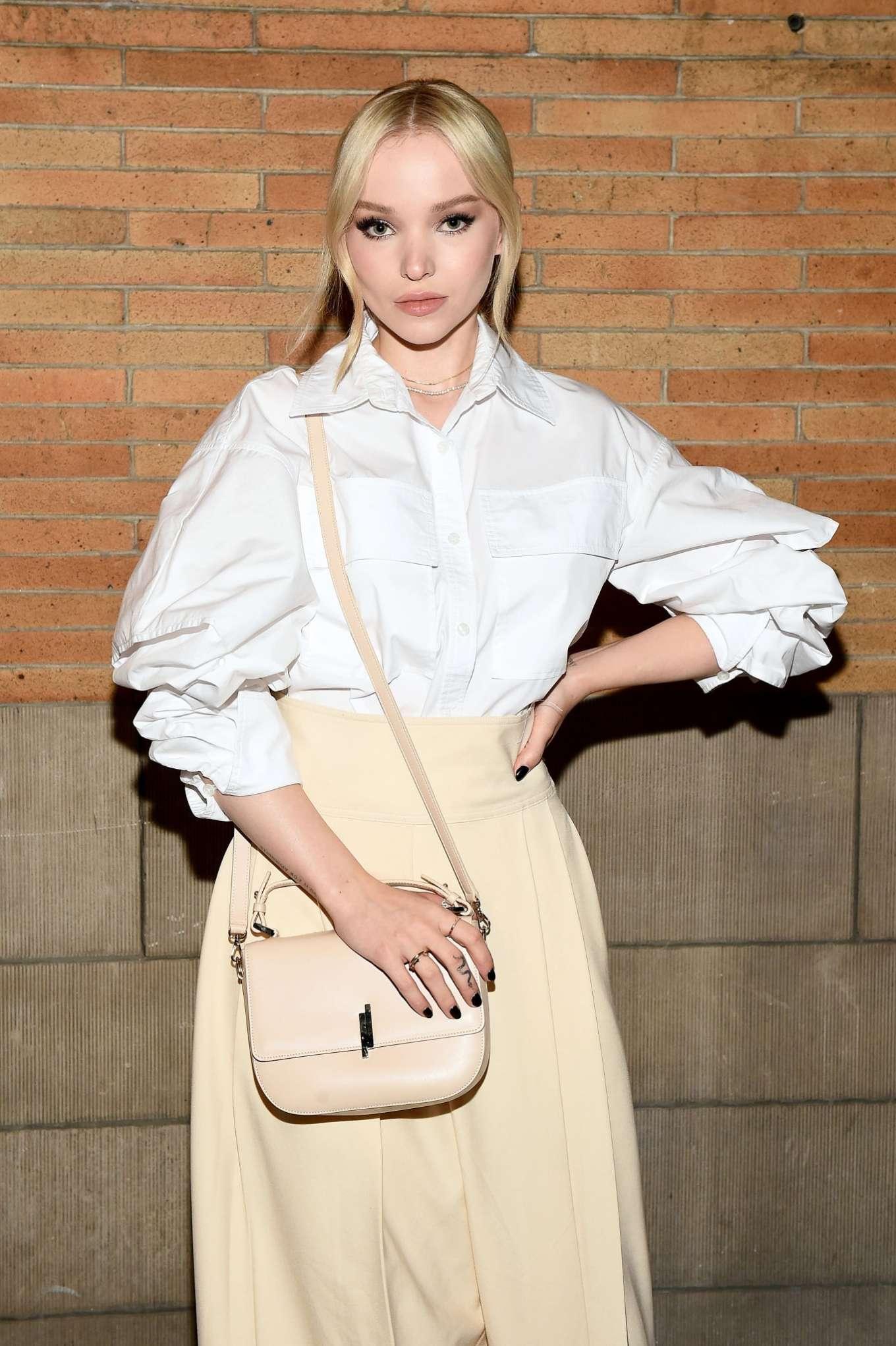 Dove Cameron - ADEAM Fashion Show 2020 at New York Fashion Week
