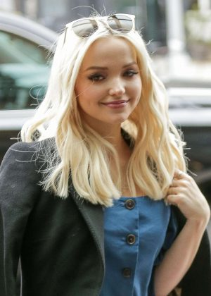 Dove Cameron - All smiles as she arrives the Bowery Hotel in New York City