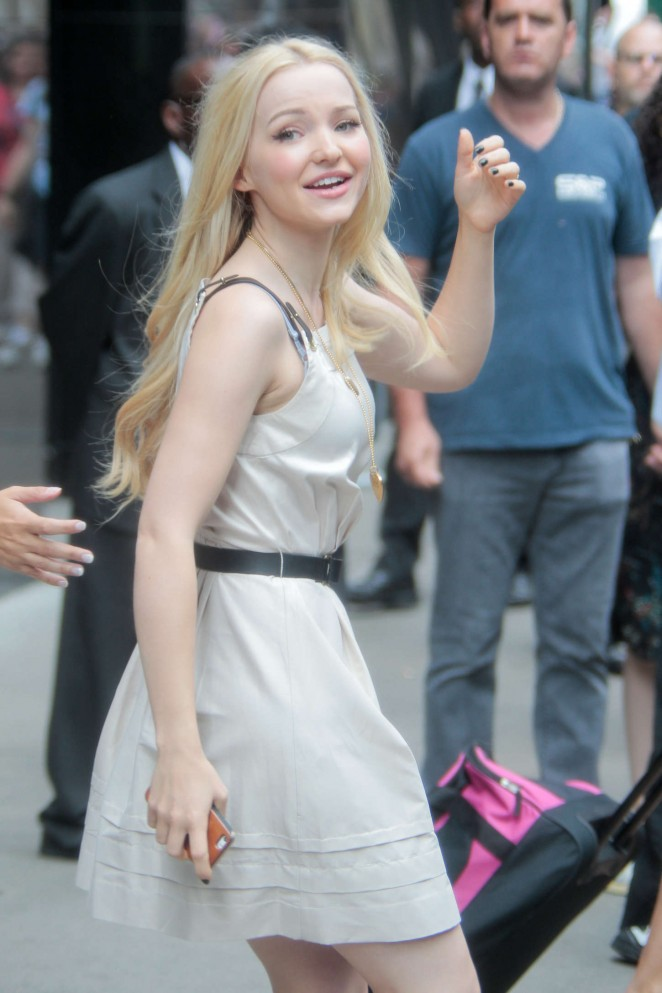 Dove Cameron - Arriving at 'Good Morning America' in NYC