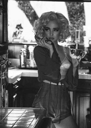 Dove Cameron as Marilyn Monroe in Galore Magazine 2017