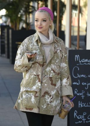 Dove Cameron at a Lunch in Los Angeles