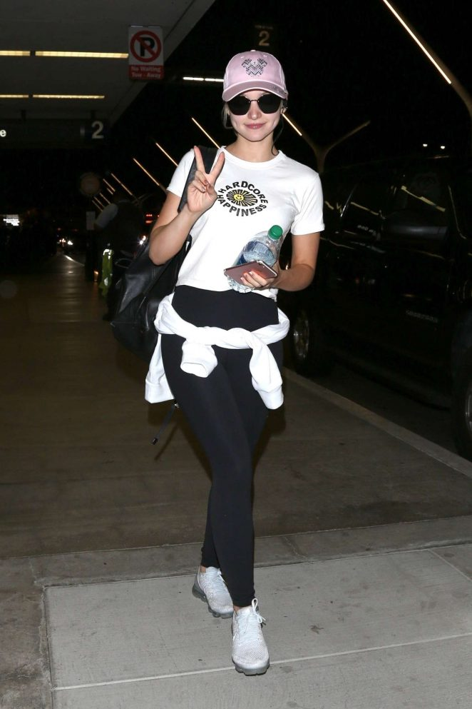 Dove Cameron at LAX Airport in LA