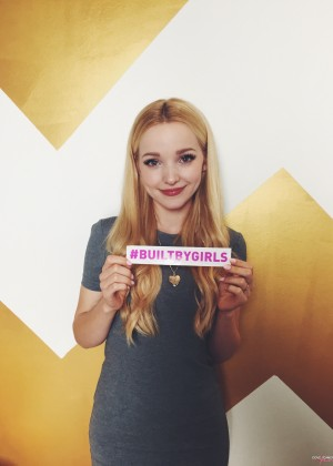Dove Cameron - 'Built By Girls' Campaign 2015