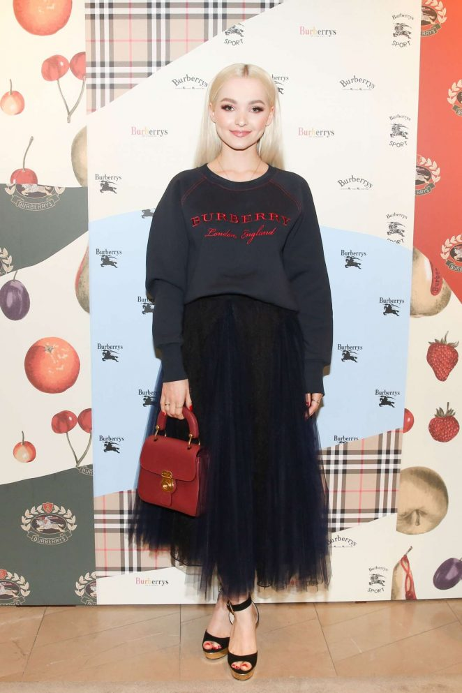 Dove Cameron - Burberry x Elle Celebrate Personal Style with Julien Boudet in LA