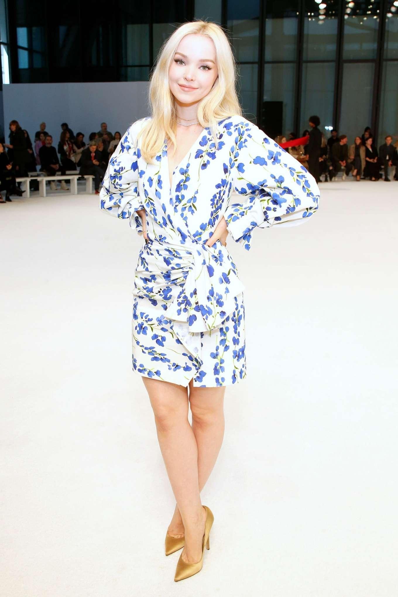 Dove Cameron 2020 : Dove Cameron – Carolina Herrera Fashion Show 2020 in New York-04