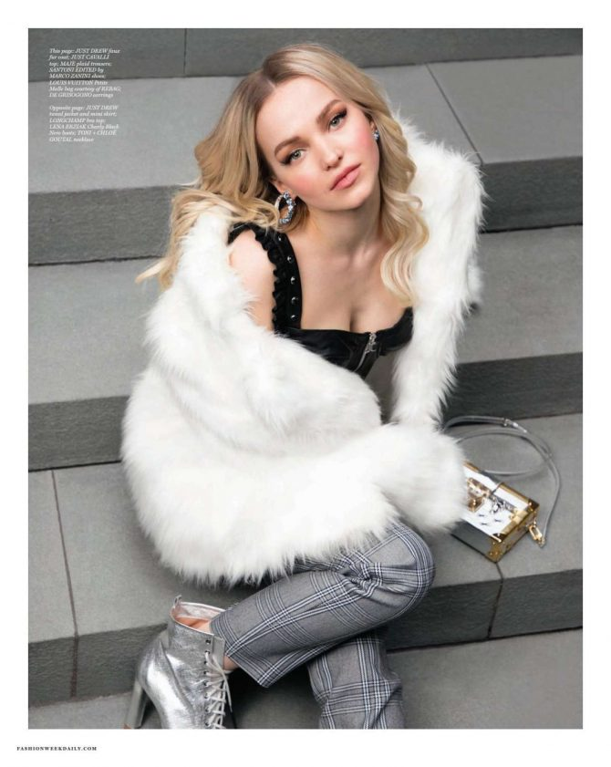 Dove Cameron - Daily Front Row Magazine (February 2019)