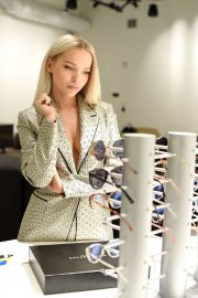Dove Cameron - Designs her new collection with Prive Revaux in Los Angeles