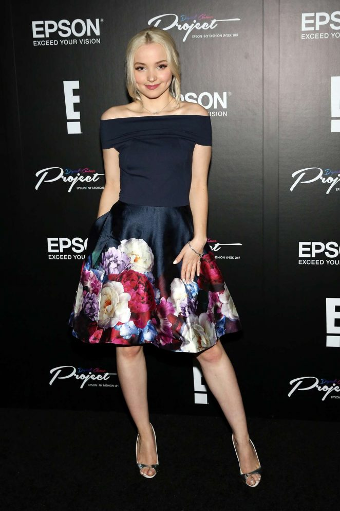 Dove Cameron - Epson Digital Couture at 2017 New York Fashion Week in NYC
