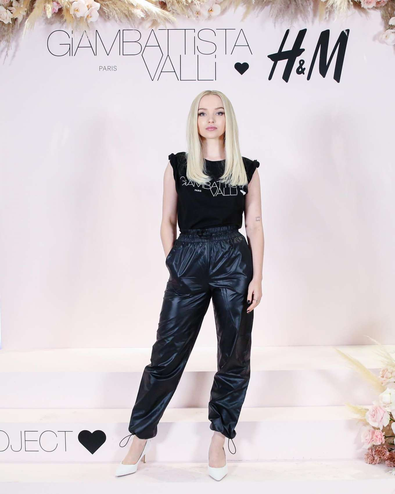 Dove Cameron - Giambattista Valli x H&M Shopping Party in Los Angeles