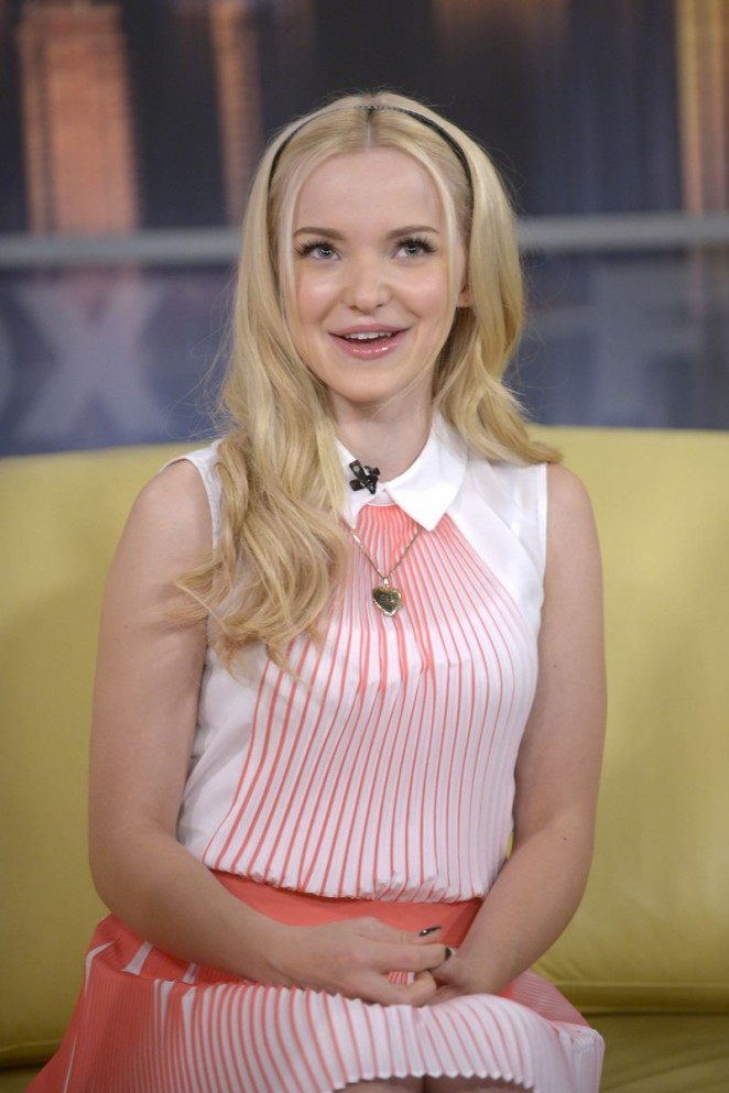 Dove Cameron on Good Day New York on Fox 5 in NYC