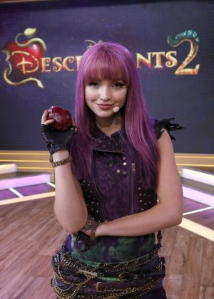 Dove Cameron on Good Morning America in New York