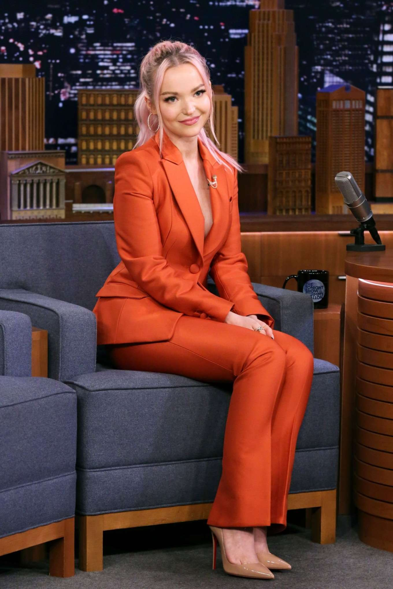 Dove Cameron - On 'The Late Show with Jimmy Fallon' in NYC