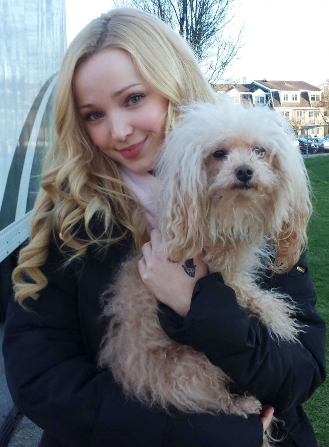 """Dove Cameron on the set of """"Monsterville"""" in Vancouver"""