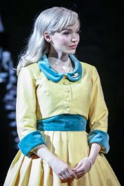 Dove Cameron - Performing in The Light in the Piazza Play in London