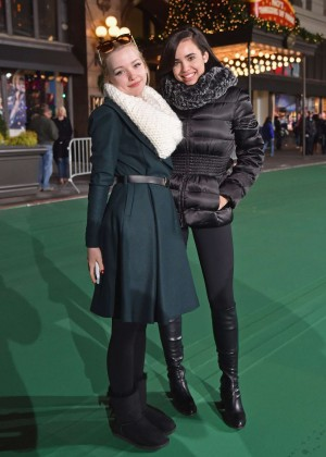 Dove Cameron & Sofia Carson - 2015 Macy's Thanksgiving Day Parade Rehearsals - Day 2 in NY
