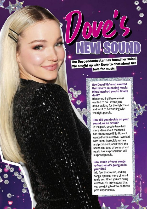 Dove Cameron - Total Girl Magazine (May 2020)