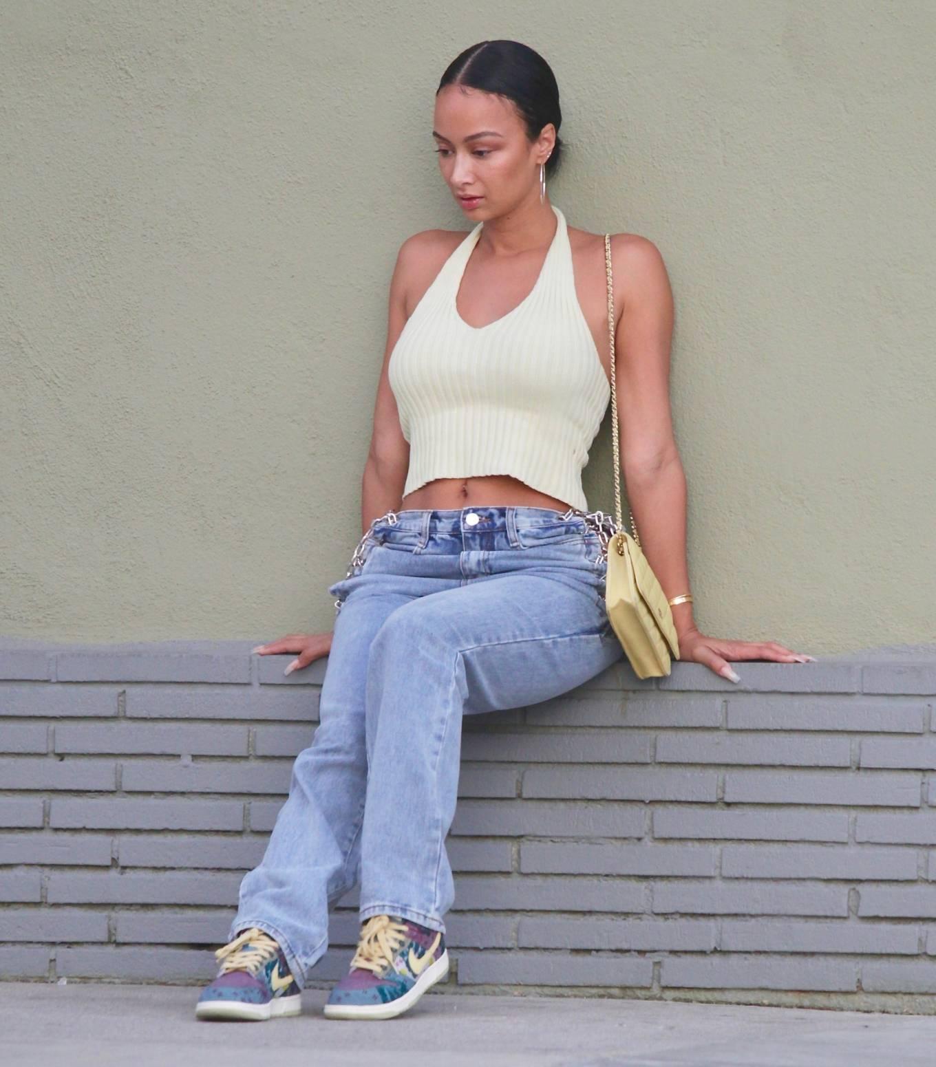 Draya Michele 2020 : Draya Michele – Aarriving at a restaurant in Los Feliz-11
