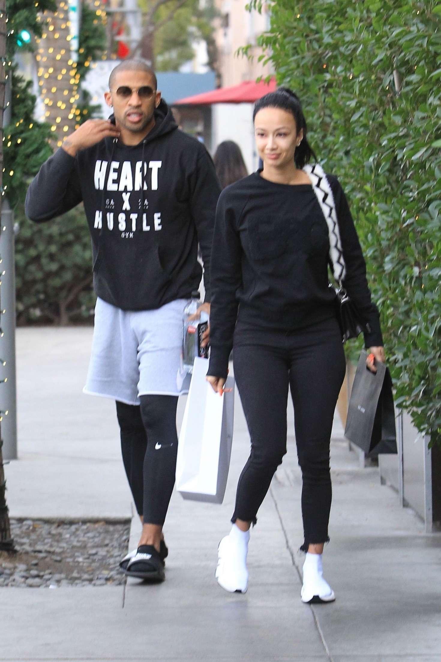 Draya Michele 2018 : Draya Michele and Orlando Scandrick: Shopping in Beverly Hills -01