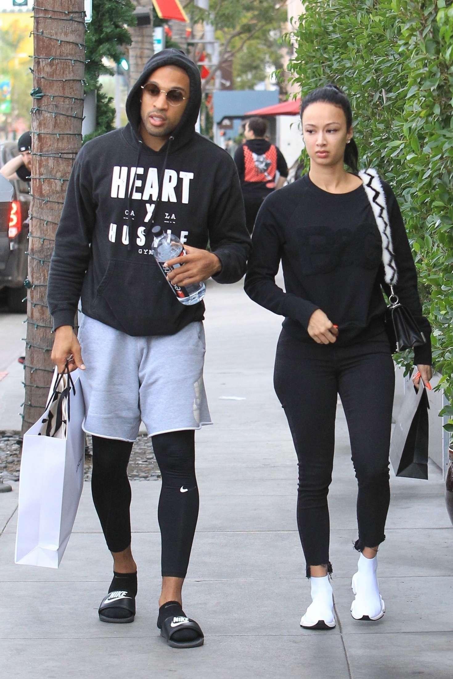 Draya Michele 2018 : Draya Michele and Orlando Scandrick: Shopping in Beverly Hills -02