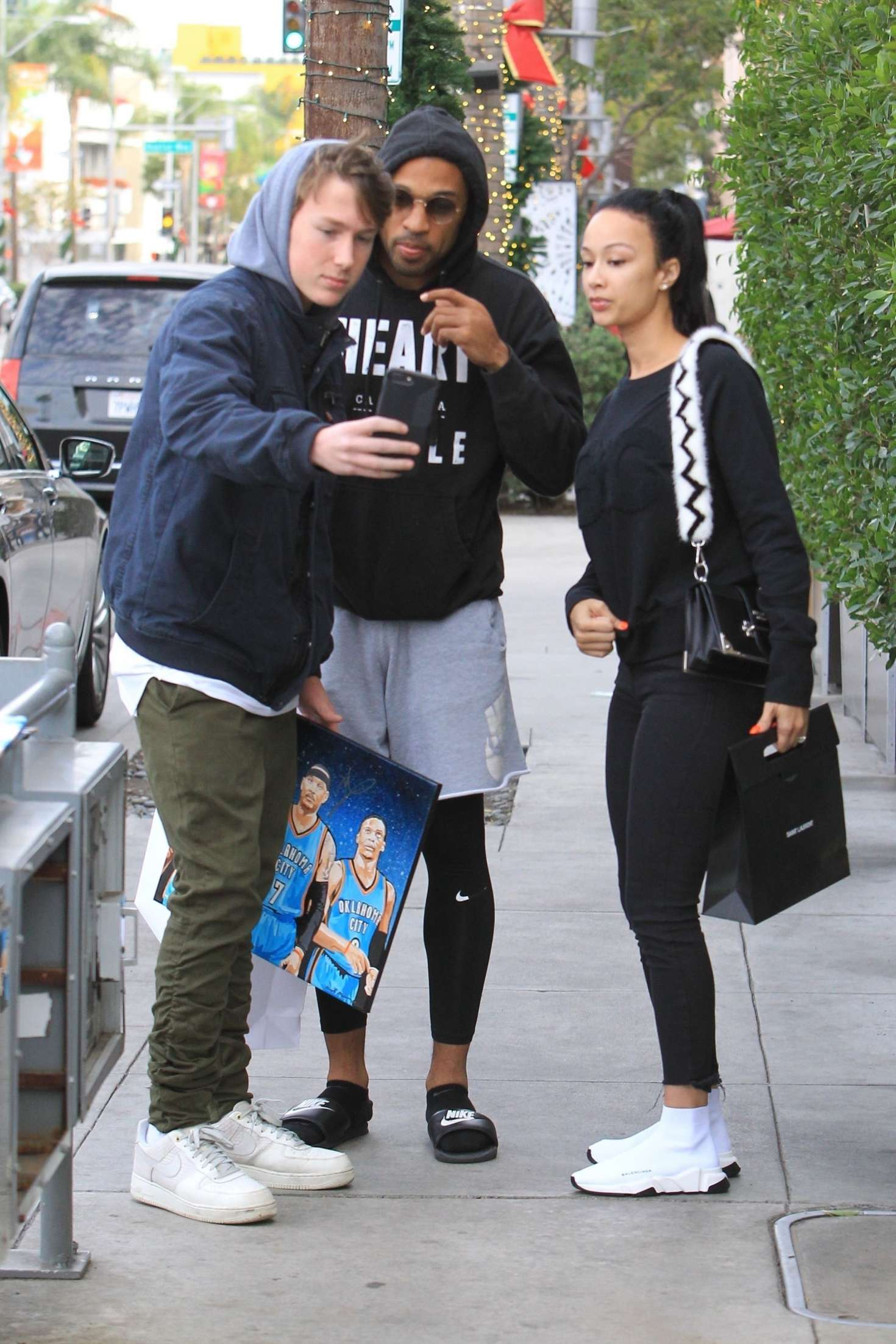 Draya Michele 2018 : Draya Michele and Orlando Scandrick: Shopping in Beverly Hills -03