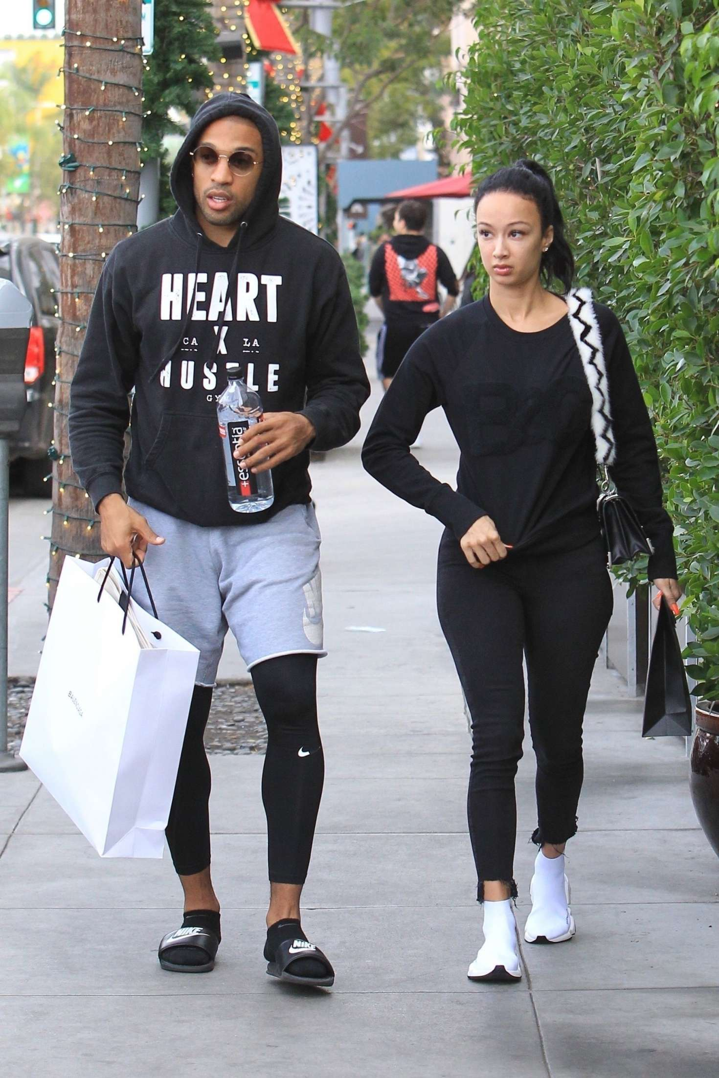 Draya Michele 2018 : Draya Michele and Orlando Scandrick: Shopping in Beverly Hills -05
