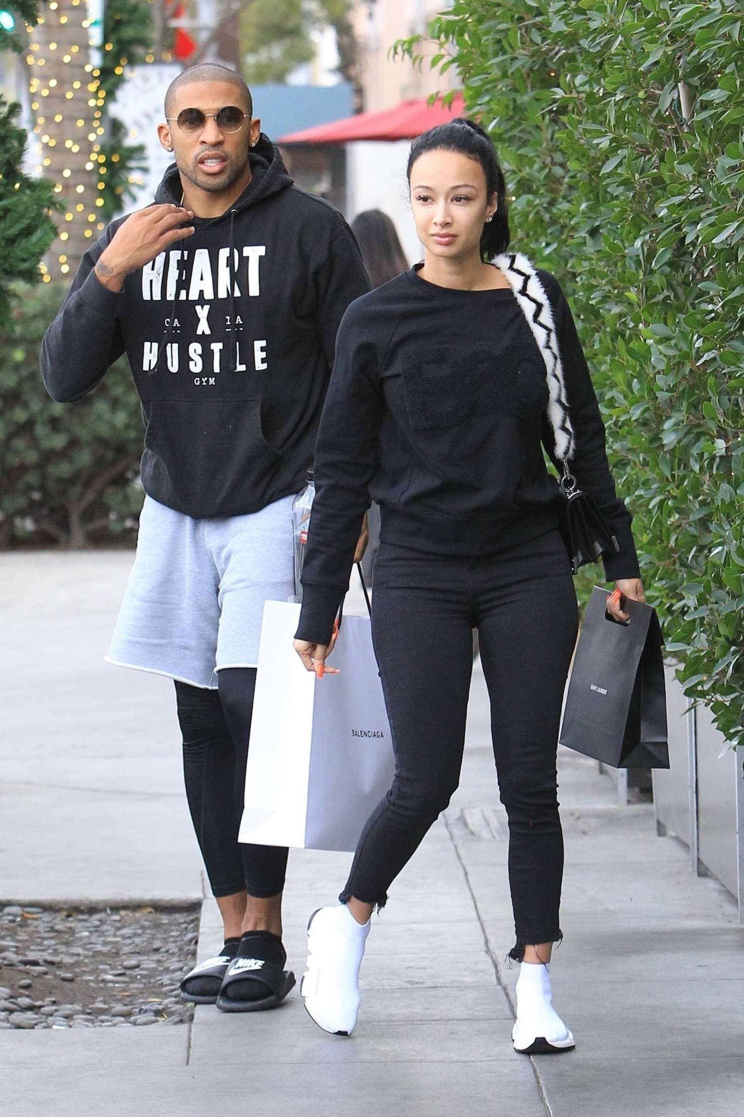 Draya Michele 2018 : Draya Michele and Orlando Scandrick: Shopping in Beverly Hills -08