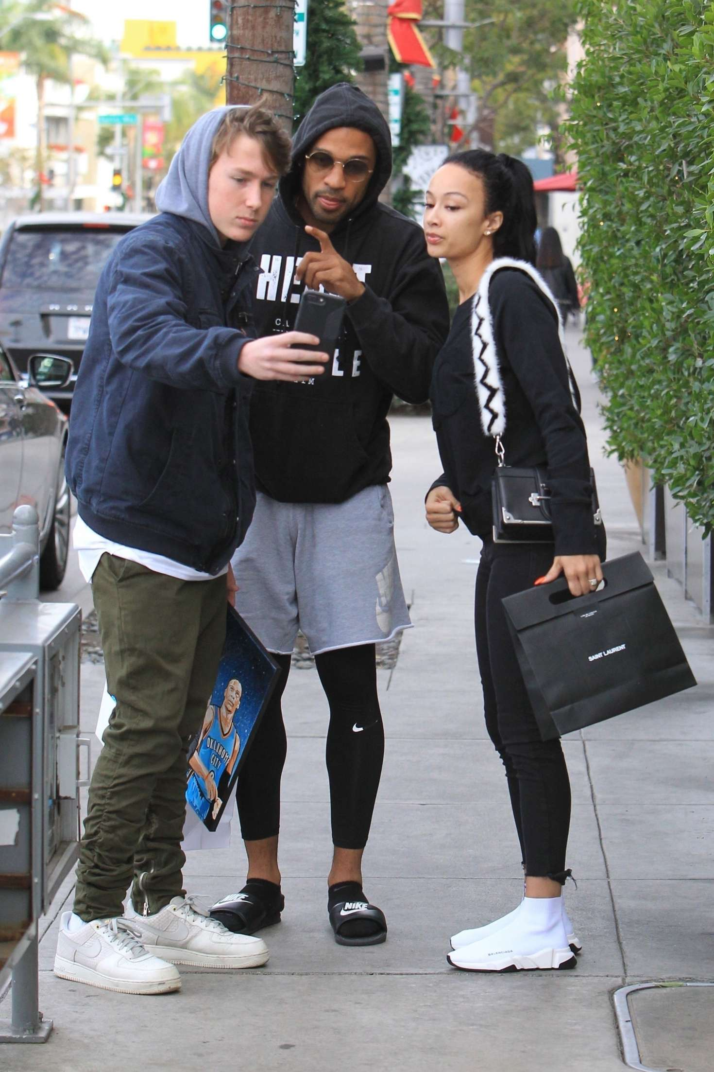 Draya Michele 2018 : Draya Michele and Orlando Scandrick: Shopping in Beverly Hills -10