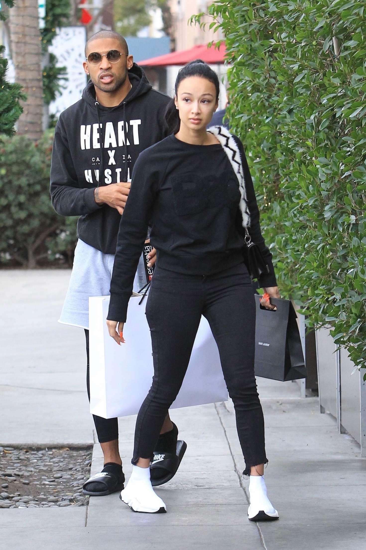 Draya Michele 2018 : Draya Michele and Orlando Scandrick: Shopping in Beverly Hills -12