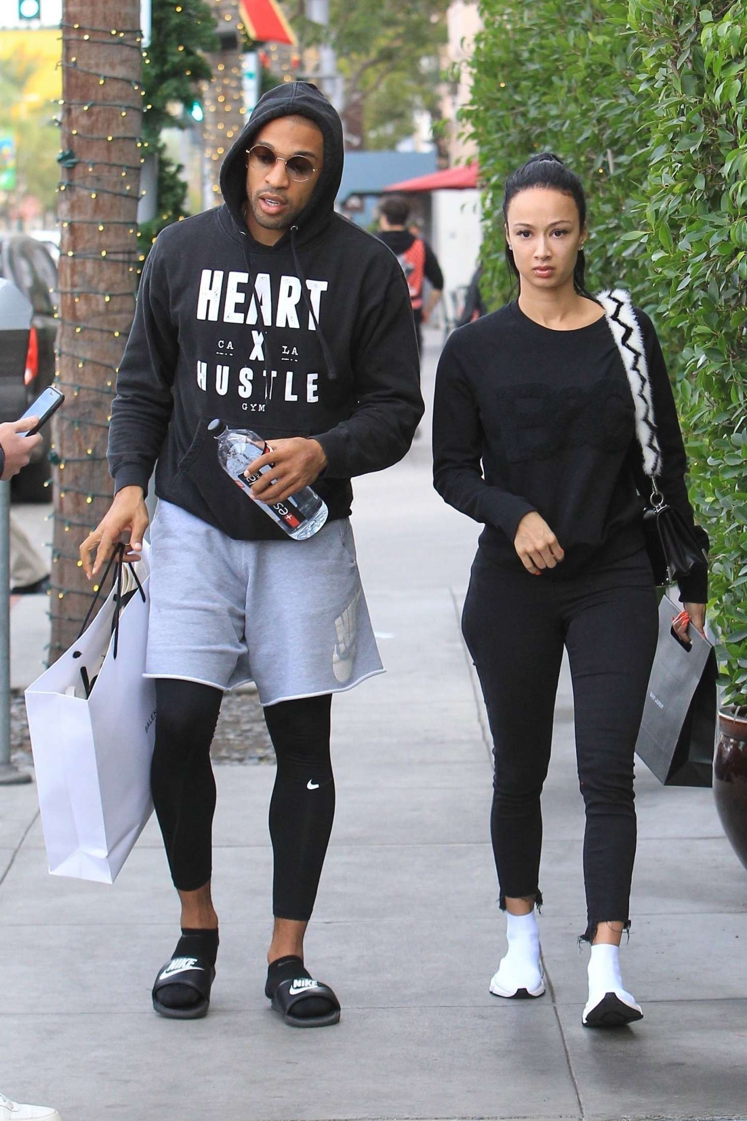 Draya Michele 2018 : Draya Michele and Orlando Scandrick: Shopping in Beverly Hills -13