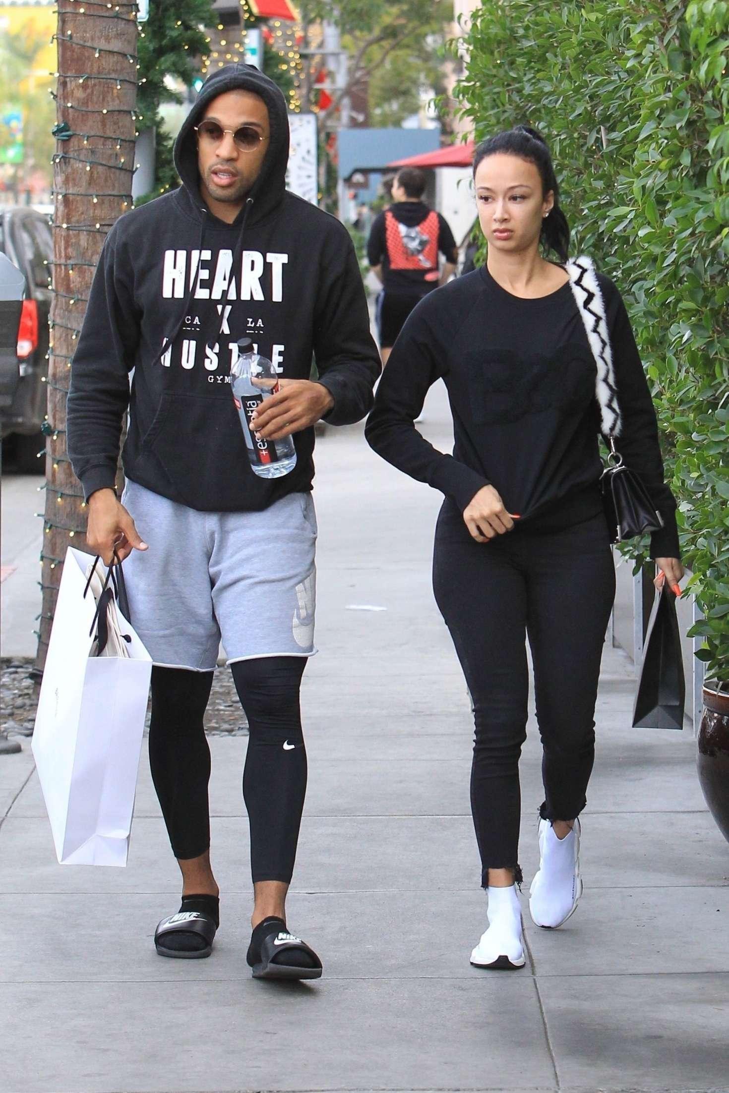 Draya Michele 2018 : Draya Michele and Orlando Scandrick: Shopping in Beverly Hills -16