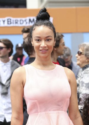Draya Michele - 'Angry Birds' Premiere in Westwood