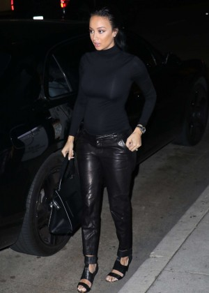 Draya Michele Arrives at Mr Chow in Beverly Hills