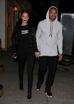 Draya Michele at Giorgio Baldi in Santa Monica
