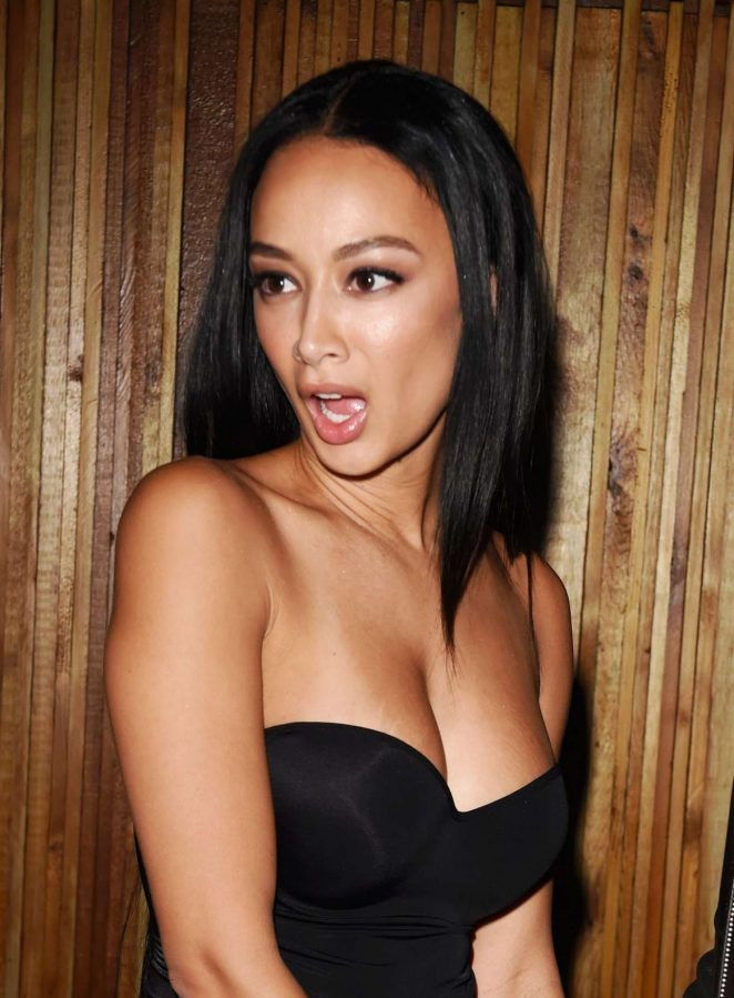 Draya Michele at Nice Guy in West Hollywood