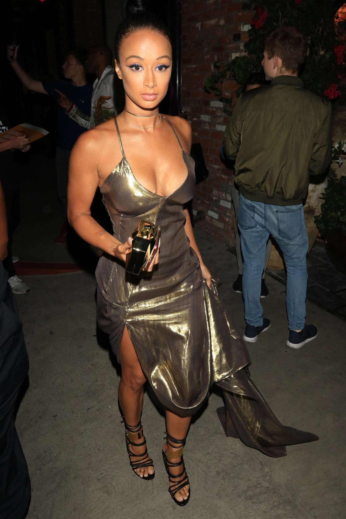 Draya Michele at TAO restaurant in Hollywood