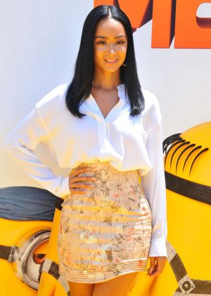 Draya Michele - 'Despicable Me 3' Premiere in Los Angeles