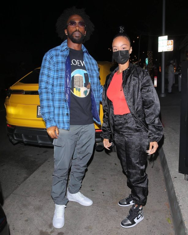 Draya Michele - Enjoys a casual date night at Mr. Chow in Beverly Hills