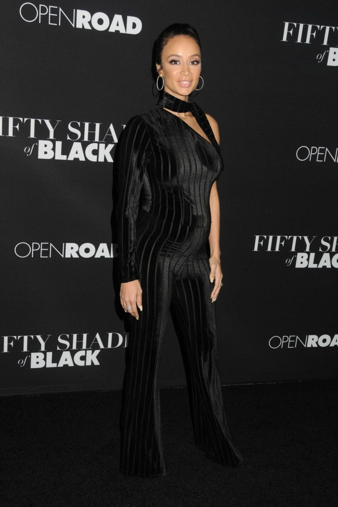 Draya Michele - 'Fifty Shades of Black' Premiere in Los Angeles