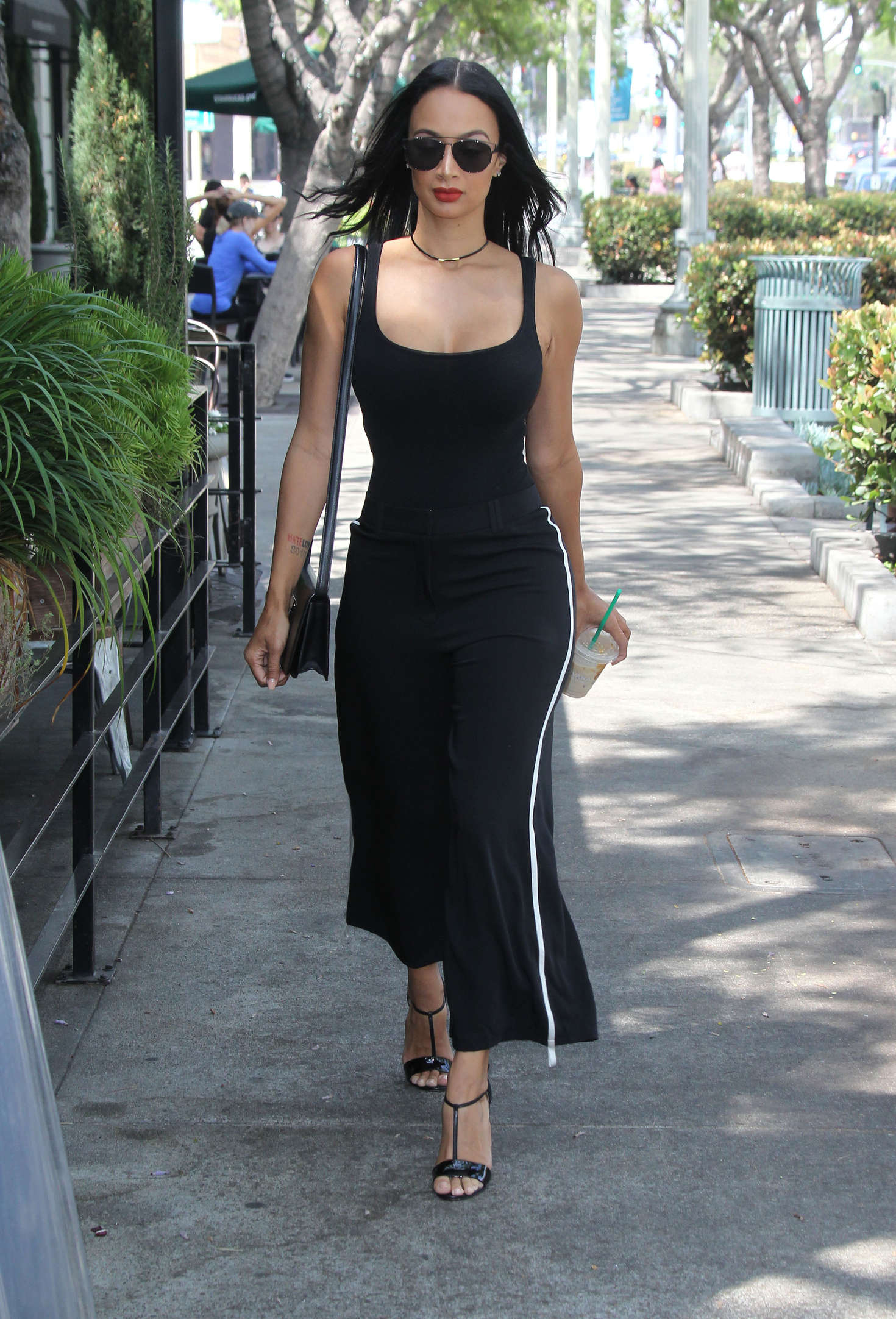 Draya Michele in Black -10 - GotCeleb