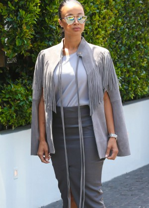 Draya Michele out in Beverly Hills