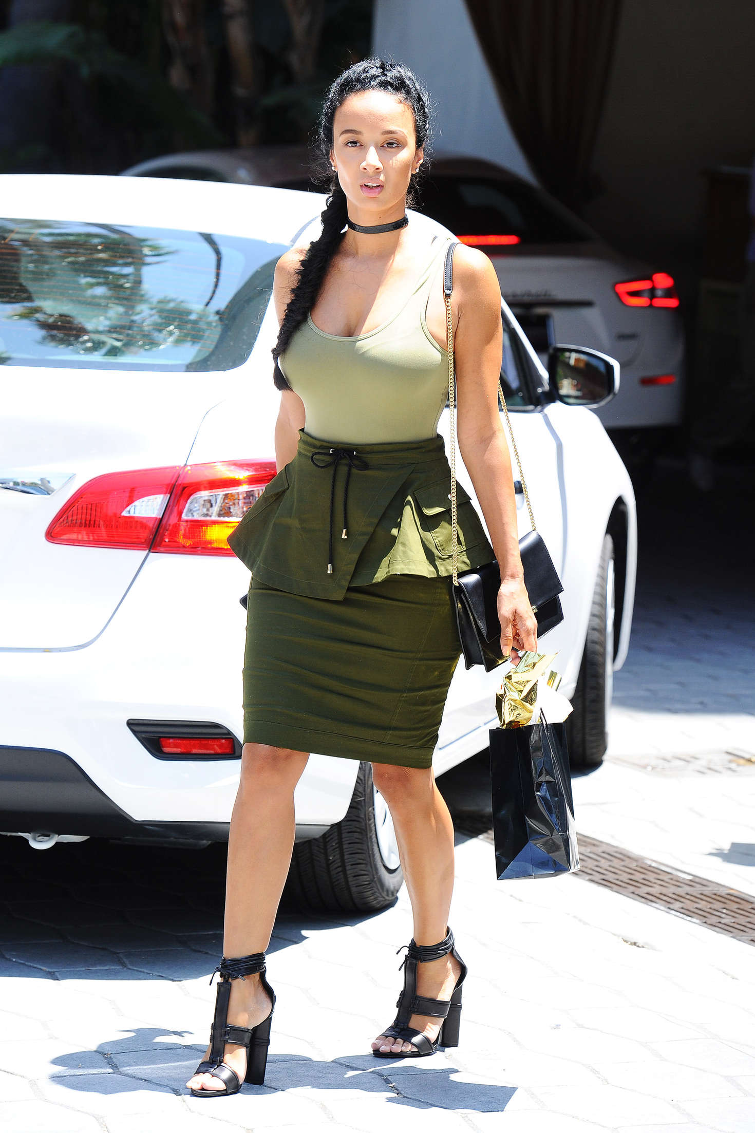 Draya Michele Out in Los Angeles -02 - GotCeleb