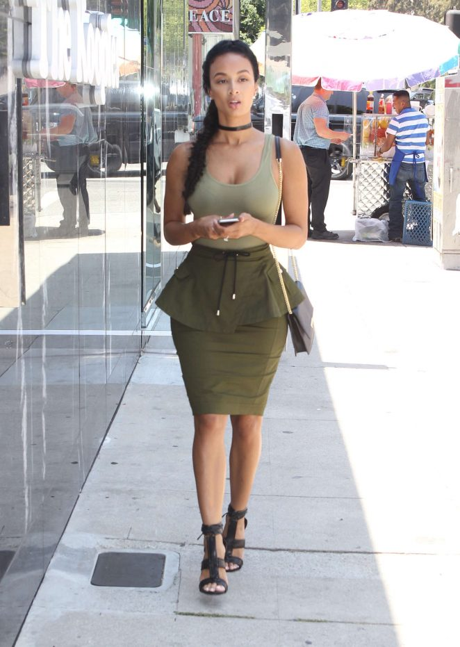 Draya Michele Out in Los Angeles -08 - GotCeleb