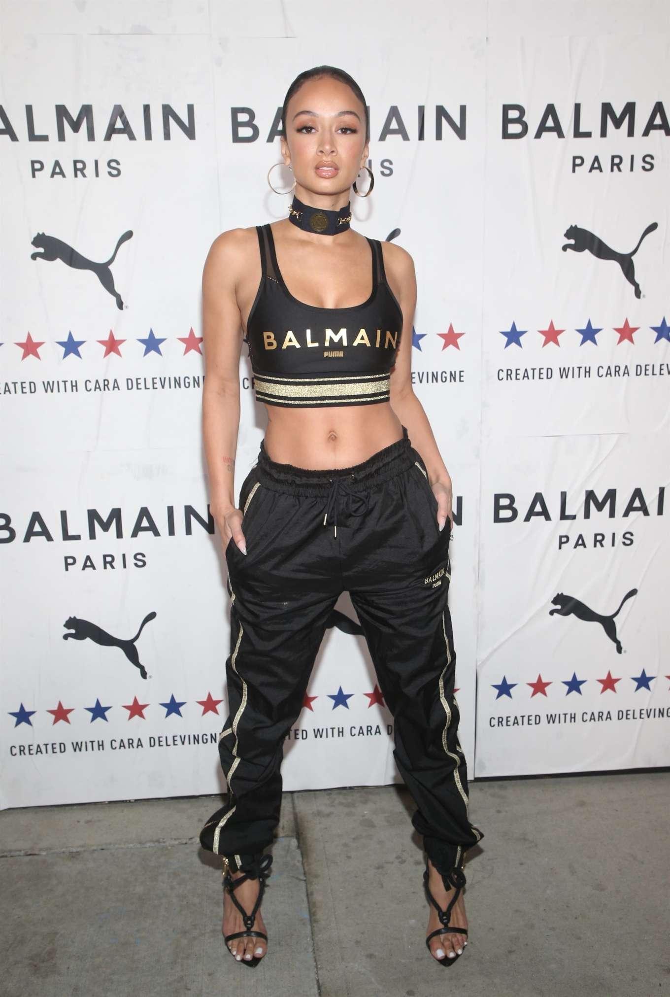Draya Michele 2019 : Draya Michele – PUMA x Balmain Launch Event in Los Angeles-03