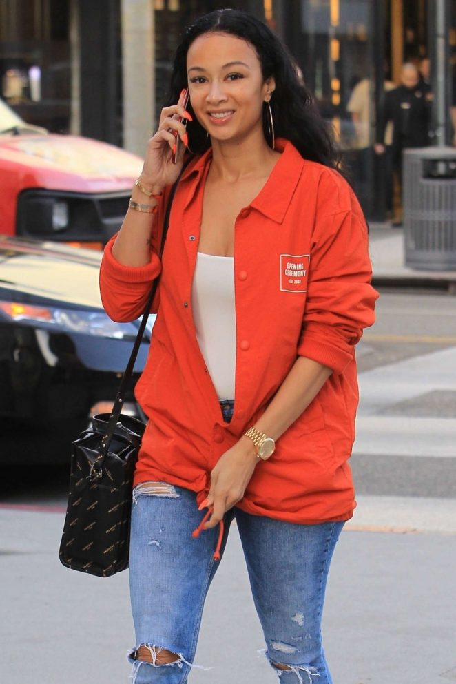 Draya Michele - Shopping on Rodeo Drive in Beverly Hills