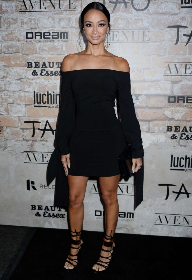 Draya Michele - TAO Group LA Grand Opening Block Party in Hollywood