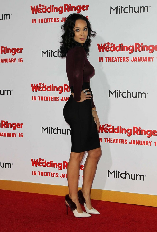 "Draya Michele - ""The Wedding Ringer"" Premiere in Hollywood"