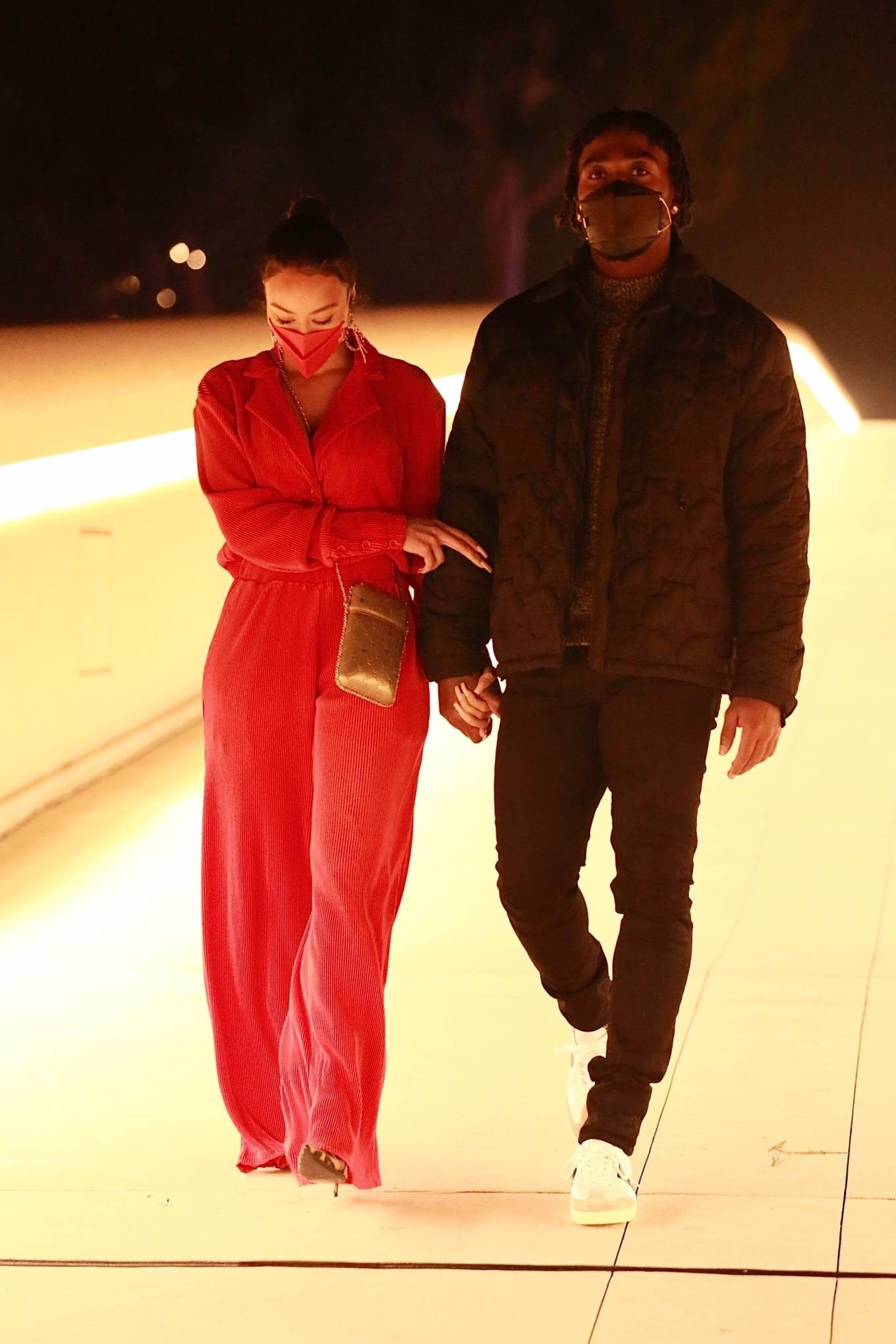Draya Michele - With boyfriend Tyrod Taylor enjoy romantic ...
