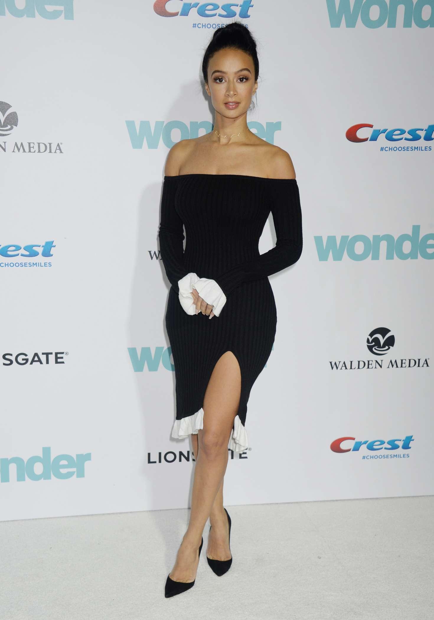 Draya Michele 2017 : Draya Michele: Wonder Premiere in Westwood -05