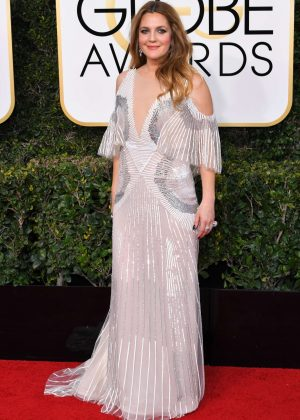 Drew Barrymore - 74th Annual Golden Globe Awards in Beverly Hills