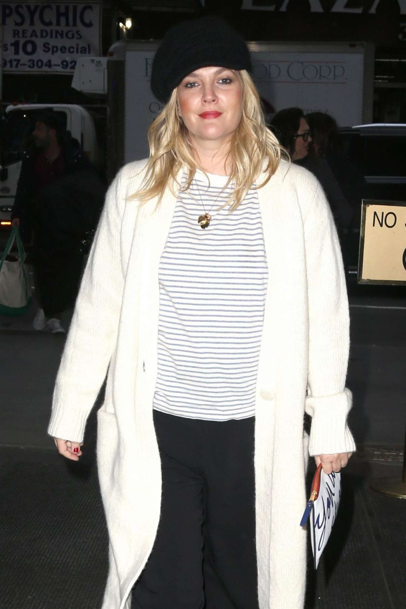Drew Barrymore  Arrives at Today Show in New York   GotCeleb
